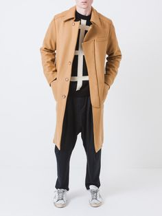 huddle through the holiday season in style with a camel coat.