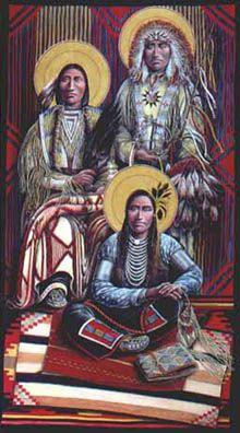 Archangels Michael, Gabriel & Raphael by Fr. John Giuliani