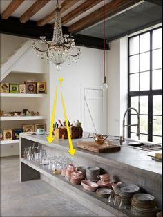 #Whyitworks--Open Shelves http://www.thenichehome.com/blog/whyitworks-open-shelving/2016/8/26  #designinspo #interiordesign #kitchen #shelves #tips