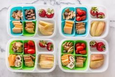 Cheese and cracker snack box