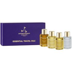 Aromatherapy Associates Essential Travel Oils 4 x 7.5ml * New and awesome product awaits you, Read it now  : Travel Skincare