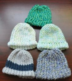 Neonatal Intensive Care Unit (NICU) Hats