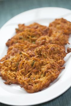 TESTED & PERFECTED RECIPE – These sweet potato pancakes — deliciously spiced with a blend of curry, cumin, ginger & cayenne pepper — are worth every bite.