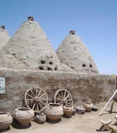 beehive houses in Harran, Turkey