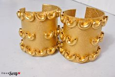 DIy Egyptian Cuffs - Step 8
