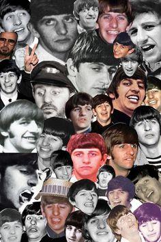 Richard Starkey collage
