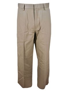 Dockers Anti-Wrinkle Khaki Pants 32x29 Classic Flat Front Permanent Crease NEW #DOCKERS #KhakisChinos