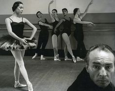 Tom Hollyman - George Balanchine and Maria Tallchief with other members of the New York City Ballet