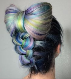 Hair tools designed with the professional in mind✂️ 8 8 - 2 2 7 - 1 4 1 4 - Beautiful Daily Shares Up Hairstyles, Pretty Hairstyles, Braided Hairstyles, Wedding Hairstyles, Perfect Hairstyle, Hair Color Blue, Blue Hair, Pink Hair, Coloured Hair