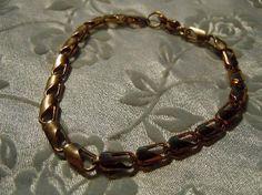 Unique Vintage Goldtone Bracelet