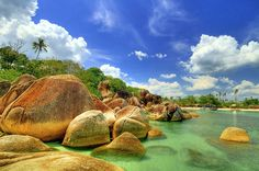Belitung island, Indonesia