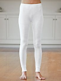 Ladies' Long Underwear Pant in Lightweight Washable Silk*I own a pair in cream color (may wear to help reduce chafing)