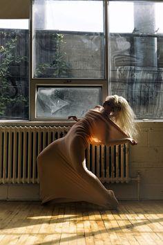 """Orange Spot"" — Photographer: Stephane Desmeules – Stef-d Model: Clara"