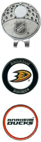 NHL Anaheim Mighty Ducks 2 Marker Cap Clip by Team Golf. $13.49. The stylish cap clip easily attaches to any hat, and includes 2 double sided enamel color fill magnetic markers.. Save 21%!