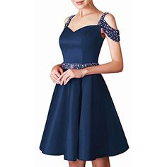 aihihe Womens Vintage Lace Short Sleeve Dresses 1950S Boat Neck Cocktail Party Swing Dress Lace Up Gothic Dress