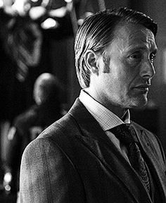 Mads Mikkelsen on the set of Hassun. #Hannibal
