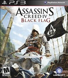 Assassin's Creed IV Black Flag - #Playstation3 - EXPLORE AN OPEN WORLD FILLED WITH OPPORTUNITIES: Discover the most diverse Assassin's Creed world ever created. From Kingston to Nassau, explore 50 unique locations where you can live the life of a pirate.