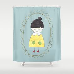 Little Dorothy Shower Curtain by Unicornlette | Society6