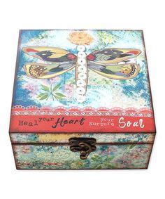 'Heal Your Heart' Jewelry Box #zulily #zulilyfinds