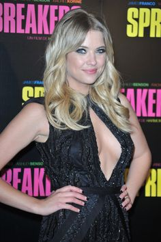 "Ashley Benson Photos Photos - Ashley Benson attends the ""Spring Breakers"" Paris Premiere at Le Grand Rex on February 18, 2013 in Paris, France. - 'Spring Breakers' Paris Premiere at Le Grand Rex"