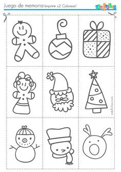 Christmas math literacy worksheets activities no prep - Dibujos navidenos para imprimir ...