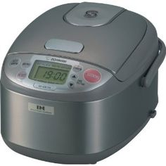 Zojirushi Rice Cooker, kawaii desu ne? It makes 3 cups of rice..it's really cute and streamlined!  #japan