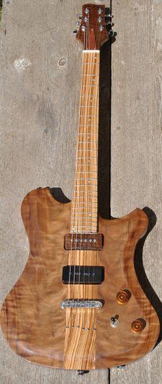 Johnny Mac Guitars Custom Walnut Top