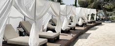 Hotel mit Blick auf das Mittelmeer