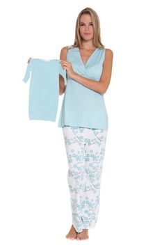 441647a10d70c Olian Maternity Lacey Cami Nursing Pajama Set for $99.00. Really adorable  and I love the lace details! Perfect to give to someone expe…