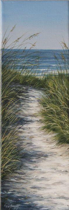 Original Acrylbild auf ein 4 x 12 breite Leinwand. Mit dem Titel Weg zum Strand.  Inspiriert von den Erinnerungen an die Spaziergänge zum Strand und die Ruhe, die aus dem Klang der Wellen des Ozeans folgt.  Eine perfekten Akzentstück für die kleineren, schmale Wand Räume.  Als professioneller Künstler nehme ich sehr stolz auf jedes einzelnen meiner Kunstwerke zu schaffen. Alle meine Stücke wird sind fertig zum Aufhängen und verpackt und versendet mit Sorgfalt.  Ich würde mich freuen…