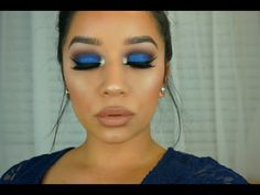 Urban Decay Gwen Stefani Palette | Royal Blue Smokey Eye - YouTube