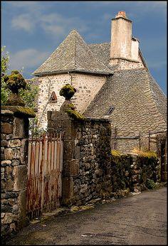 Salers - Cantal dept. - Auvergne region,  France