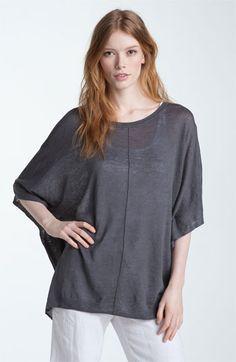 Oversized Linen Sweater