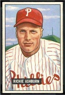 Richie Ashburn - Philadelphia Phillies