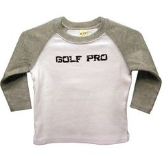 Golf Pro baby and toddler shirt  Clearance by threewagons on Etsy, $5.00