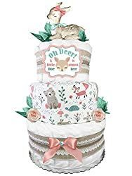 Easy Diaper Cake Instructions Anyone Can Make! Baby Shower Diapers, Baby Shower Gifts, Diaper Cake Instructions, Cute Baby Shower Ideas, Shower Diverter, Burlap Lace, Shower Systems, Oh Deer, Works With Alexa