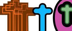 cross symbols illustrator colorful designs