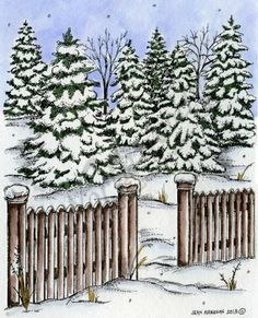Winter Sleding Party Scene Wood Mounted Rubber Stamp Northwoods Rubber Stamp New
