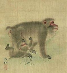 Mori Sosen (1747-1821) Japanese Painter, Edo Period ~
