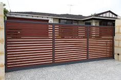 Image result for residential timber fencing