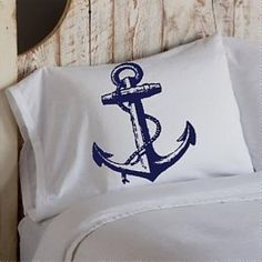 Anchor Pillow Case. $11.99