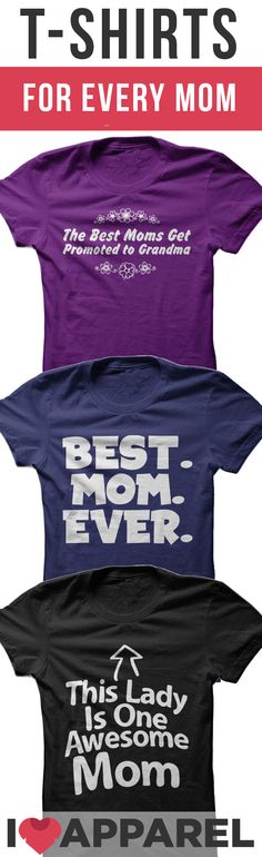 With mother's day around the corner, give your mom or grandma a gift they can enjoy all year round. Come view our selection of thousands of t-shirts and hoodies and find the perfect match for that woman in your life to show your appreciation.
