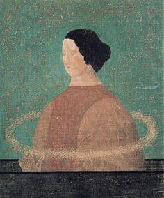 'Saturn' by Toshio Arimoto Kitty Crowther, Modern Art, Contemporary Art, Figurative Kunst, Japanese Modern, Winter Art, Angel Art, Japan Art, Illustration