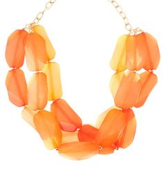 Color Layered Necklace $29