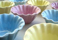 Ruffled Bowls :)
