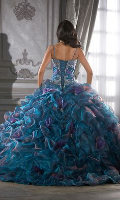 All Fashion 4 US : Colorfully on Crystal Organza