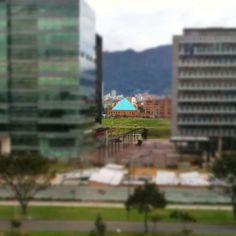 """#pyramid #SocialMediaWeek #Bogotá #InstagramYourCity"" by @ermetic"