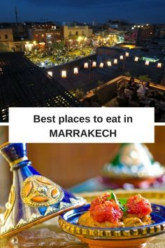 Best restaurants in Marrakech, Morocco - these are the top tried and tested places to eat out in the famous Red City.
