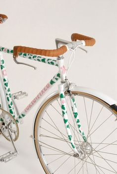 Tokyo-Fixed's Eley-Kishimoto Limited Edition Bicycle (I'm sure there's more than one soror riding around on this darling bike.)