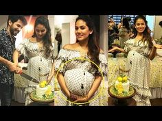 Mira Rajput Flaunting Her Baby Bump At Her Baby Shower Party